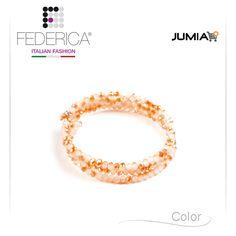 Bracelet EMMA 2  Spiral faceted crystal bracelet. Shaded beige. 1.100,00 Ksh http://www.federicafashion.com/it/ep66/bracelet-emma-2/ http://www.jumia.co.ke/federica-fashion/