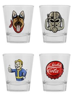 Shop Fallout clothing, gifts and accessories at Grindstore, the UK's alternative clothing store. Free delivery on all UK orders over Next-day delivery available. We deliver to the UK and worldwide. Fallout Merch, Fallout Game, Nerd Merch, Gaming Merch, Fallout 4 Tattoos, Tequila Festival, Video Game Wedding, Shot Glass Set, Fall Out 4