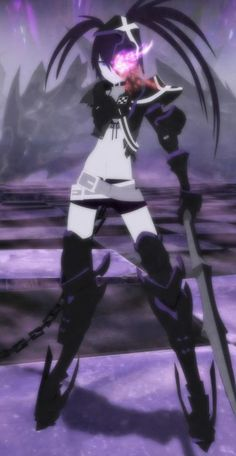 evil black rock shooter - Google Search