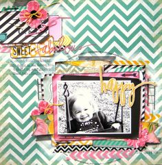 Missy Whidden Scrapbook Project - Sweet & Fabulous using #HeidiSwapp #SugarChic