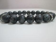 Labradorita,Pulsera Labradorita,Pulsera para hombres de Labradorita piedras semipreciosas,Regalo,Regalo para hombres, de Lenajoyas en Etsy
