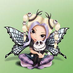Jack Fairy - Nightmare Before Christmas Figurine -Jasmine Becket Griffith