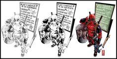 Deadpool variant cover by diablo2003 on DeviantArt