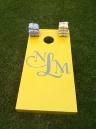 Love our wedding sets? Call and order yours today! 1-888-504-7112 www.ajjcornhole.com