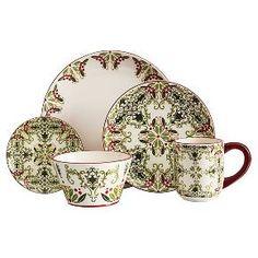American Atelier  Bargello 20pc dinnerware Set