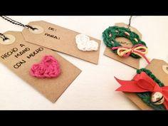crochet gift tags - free tutorial! / decora tus etiquetas navideñas a croche - tutorial gratis!