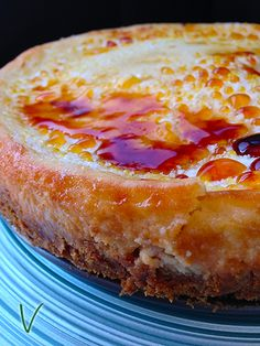 Coconut Creme Brulee Cheesecake . . . call a cardiologist immediately! However, this could be a wonderful treat for Becca's birthday ~ cheesecake & coconut are two of her favorites!