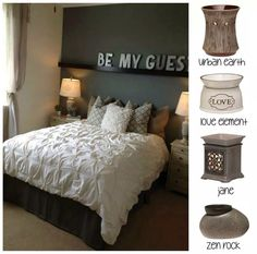 Scentsy options for your bedroom, kitchen, living room, laundry room or bathroom!! Choose your design style to fit your personality! There's a warmer for everyone! www.tammygrider.scentsy.us #guestroom #zen #rock #jane #grey #love