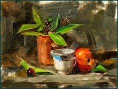 Painter Qiang Huang.