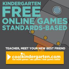 There is extreme value in teaching kindergarten students what you expect them to learn. Teaching expectations for procedures and behavior is a given since our students are so new. but I think sometimes we forget that they need goals for academics too. Computer Games For Kids, Computer Teacher, Online Games For Kids, Gaming Computer, Abc Games, Fun Math Games, Learning Games, Star Citizen, Kindergarten Goals