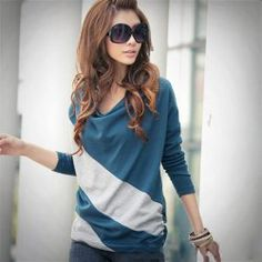 :Long Sleeves | Cheap White Long Sleeve Shirt For Women Online At Wholesale Prices | Sammydress.com Page 2