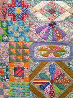 MessyJesse - a quilt blog by Jessie Fincham: Kaffe Fasset 2014 Exhibition, American Museum In Britain