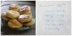 Mäkučké a fantasticky chutné zemiakové pagáče. Rodin, Mozzarella, Doughnut, Hamburger, Muffin, Bread, Breakfast, Desserts, Food