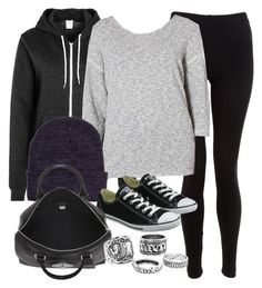 """Style #9589"" by vany-alvarado ❤ liked on Polyvore featuring American Apparel, Converse and Mulberry"