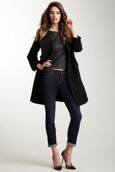 Skinny Crop & Roll Jean