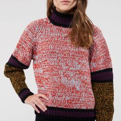 FYN SWEATER by KIT COUTURE knitted in Highland
