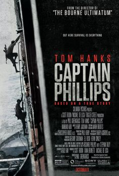 Captain Phillips. Gritty, tense and very realistically made. Both performances were excellent