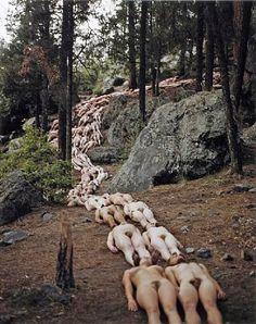 New Mexico 2 (Jemez Valley, SITE Santa Fe) 2001 Spencer Tunick