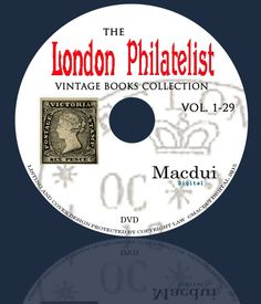 The London Philatelist 1892 1920 Vintage by MacduiDigital Old Magazines, Vintage Magazines, Vintage Books, Book Collection, Cover Design, Ebooks, Dads, Collections, London