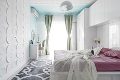 Interior design by Gavia Concept Oversized Mirror, Concept, Interior Design, Bed, Furniture, Home Decor, Interiors, Nest Design, Decoration Home
