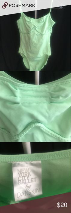 Leotard New York City Ballet by Danskin Women's Mint green size Medium perfect condition. I am a dance teacher and my daughter a dancer. We have a slight obsession with dance wear 😬 I will be posting many more gorgeous Leos and dance wear Danskin Other