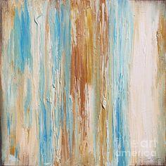Sea Stripes-jp2494 Print By Jean Plout