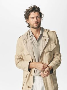 Safari Jacket, Ss 2017, Latest Mens Fashion, Men Looks, Jackson, Raincoat, Spring Summer, Fashion Design, Men's Fashion