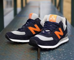Burn Rubber x New Balance 574 -
