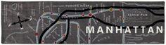 Mohawk Home Mohawk® Home Manhattan Map Rug Runner - 2' x 8'