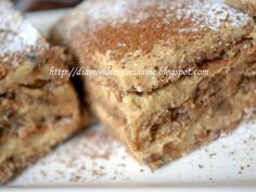 Prajitura fina cu ness, poza 2 Romanian Desserts, Romanian Food, Romanian Recipes, Cookie Desserts, Cookie Recipes, Christmas Sweets, Sweets Recipes, Something Sweet, Holiday Baking