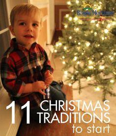 11 Christmas / Holiday Traditions to Start #SavortheSeason #sweepstakes