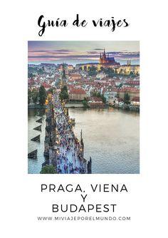 Viaja a Praga, Viena y Budapest - Tips de viaje #europadeleste #viajaaeuropa #austria Budapest, Travel Around The World, Around The Worlds, Magic City, Czech Republic, Wonders Of The World, Beautiful Places, Wanderlust, Europe