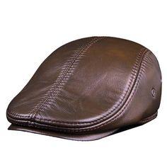 Vintage Baseball Caps, Leather Baseball Cap, Sailor Cap, Winter Leather Jackets, Army Hat, Flat Hats, Beret, Hats For Men, Latest Fashion