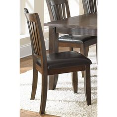 Greyson Living Jacey Warm Oak Finish Side Chairs