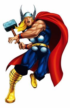 Image result for thor cartoon