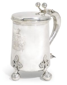 A rare provincial George III silver tankard, John Langlands I, Newcastle 1774 | lot | Sotheby's