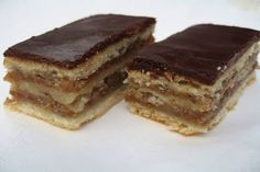 A zserbó titka, amit sok háziasszony nem ismer! Hungarian Desserts, Hungarian Recipes, Zserbo Recipe, Cookie Desserts, Dessert Recipes, Delicious Desserts, Yummy Food, Ober Und Unterhitze, Baking And Pastry