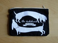 {The Dachshund League pouch} there's a league I'd join! ;)