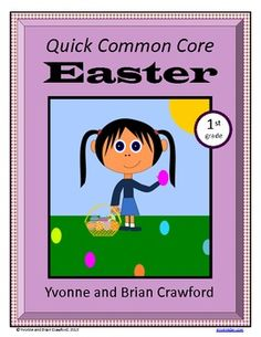 For 1st grade - Easter Quick Common Core is a packet of ten different math worksheets featuring an Easter theme. $