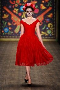 Tabasco Dress pepper - Lena Hoschek Online Shop