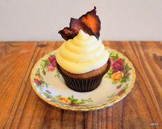 Maple & Bacon Breakfast Cupcakes