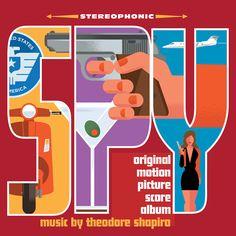 Spy Original Score by Theodore Shapiro