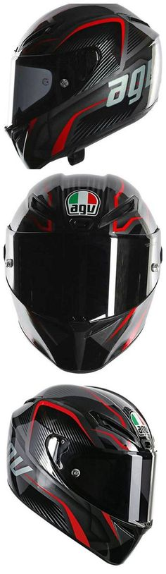 AGV GT Veloce TXT Full Face Carbon Motorcycle Helmets Tall