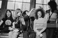 Steve just loves Neal's hair Aynsley Dunbar, Gregg Rolie, Steven Ray, Journey Band, Neal Schon, Journey Steve Perry, Wheel In The Sky, Eric Carr, Dimebag Darrell