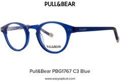 Pull&Bear PBG1767 C3 Blue Eyewear, Easy, Blue, Eyeglasses, Sunglasses, Eye Glasses, Glasses