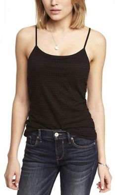 OPEN MESH BRA CAMI from EXPRESS