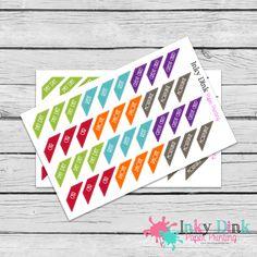 New to InkyDinkPrinting on Etsy: 36 Bill Pay House Budget Payment Half Sheet Planner Stickers Erin Condren Happy Planner Plum Planner Sticker Sampler EC Life Planner HS-08 (2.75 USD)