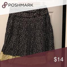 Navy toi moi print skirt large Navy toi moi print skirt large Skirts