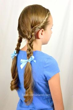 I like the twirl at the top; very closely related to the movie hairstyle. I'll try this during dress rehearsals.
