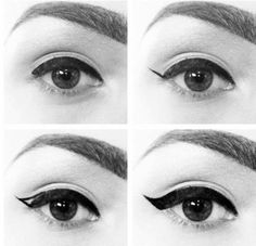 This time we're going to talk about 1950 make up, this is a very simple make up and one of the most female looks of the century. Of course it's not only the make up but also the hollywood curls, be...